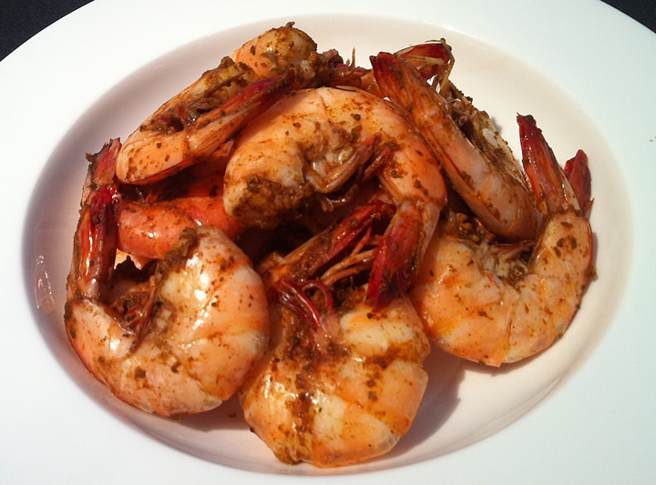 Beer Steamed Shrimp Recipe by Locals Seafood