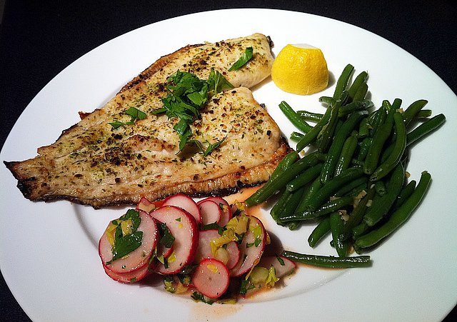 Broiled Flounder Recipe by Locals Seafood