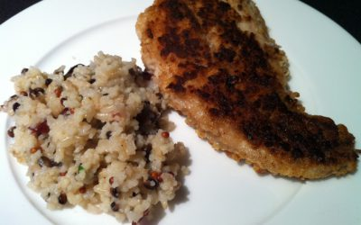 Pecan-crusted Red Drum
