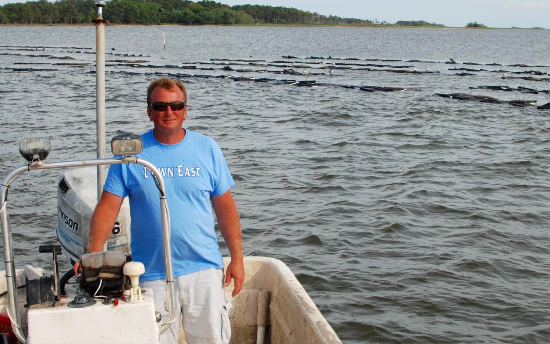 Adam Tyler, Oyster Farmer & Fisherman in North Carolina