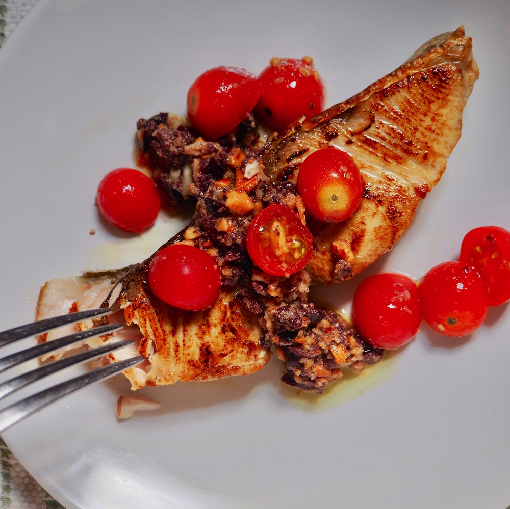 Amberjack steak recipe from Locals Seafood