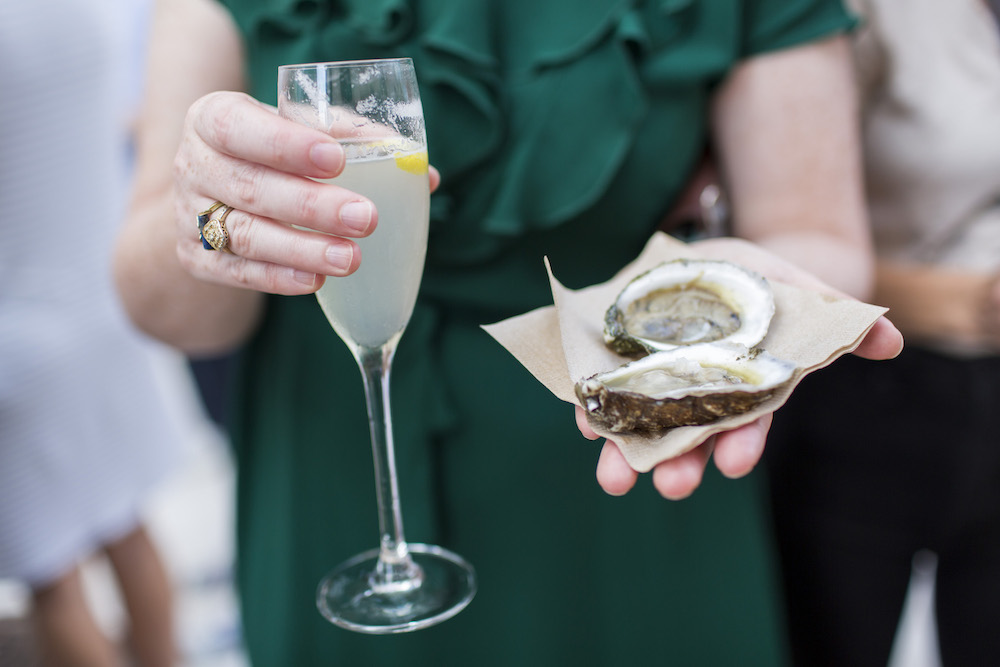 Oysterfest with Paul Greenberg at The Durham Hotel