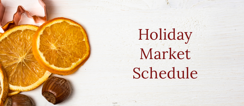 Holiday Market Hours