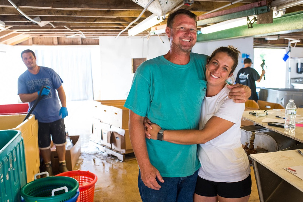 Micah and her partner, Matt Huth