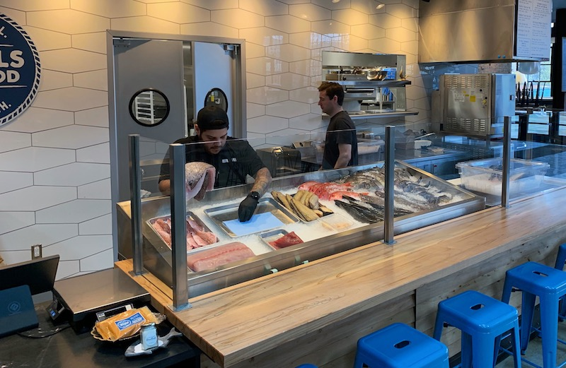 Locals Seafood Market at Transfer Co. Food Hall