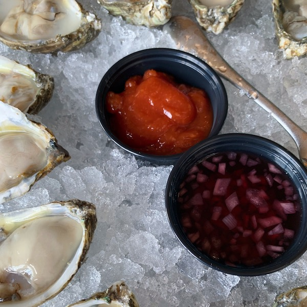 Getting Saucy with Locals Oyster Bar