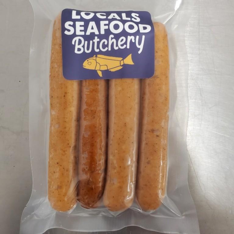 LSB Shrimp & Scallop Hot Dogs