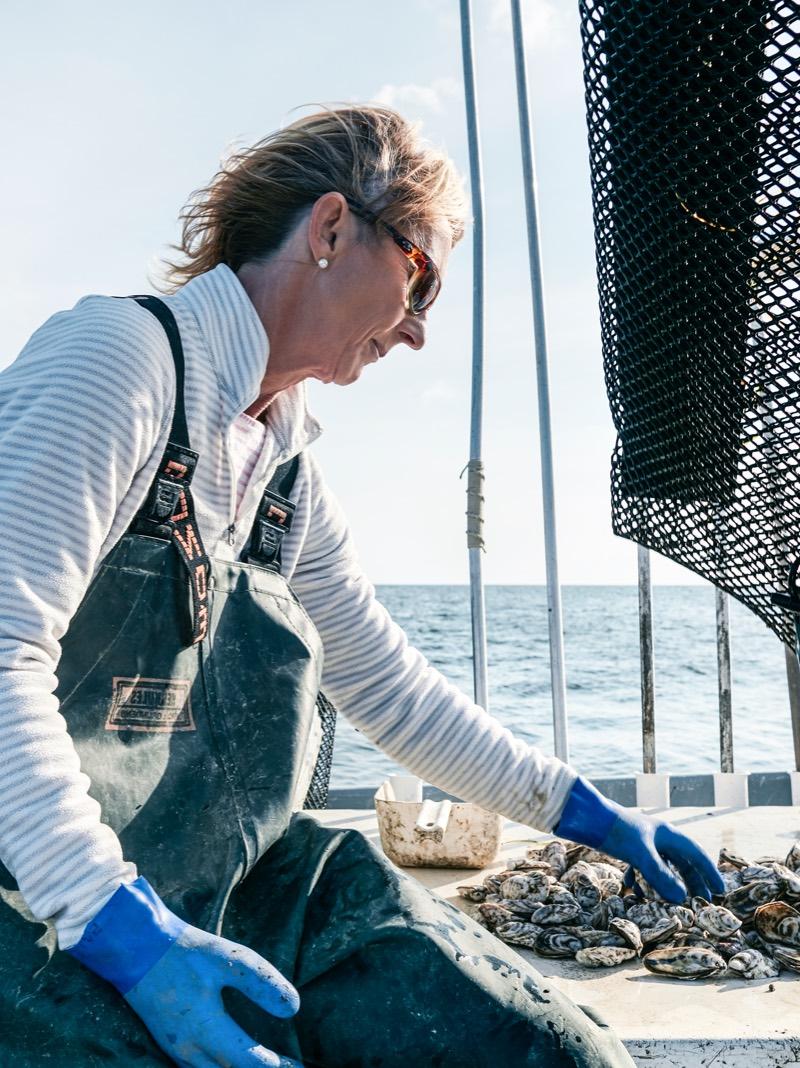 Slash Creek Oyster Farmer Katherine McGlade